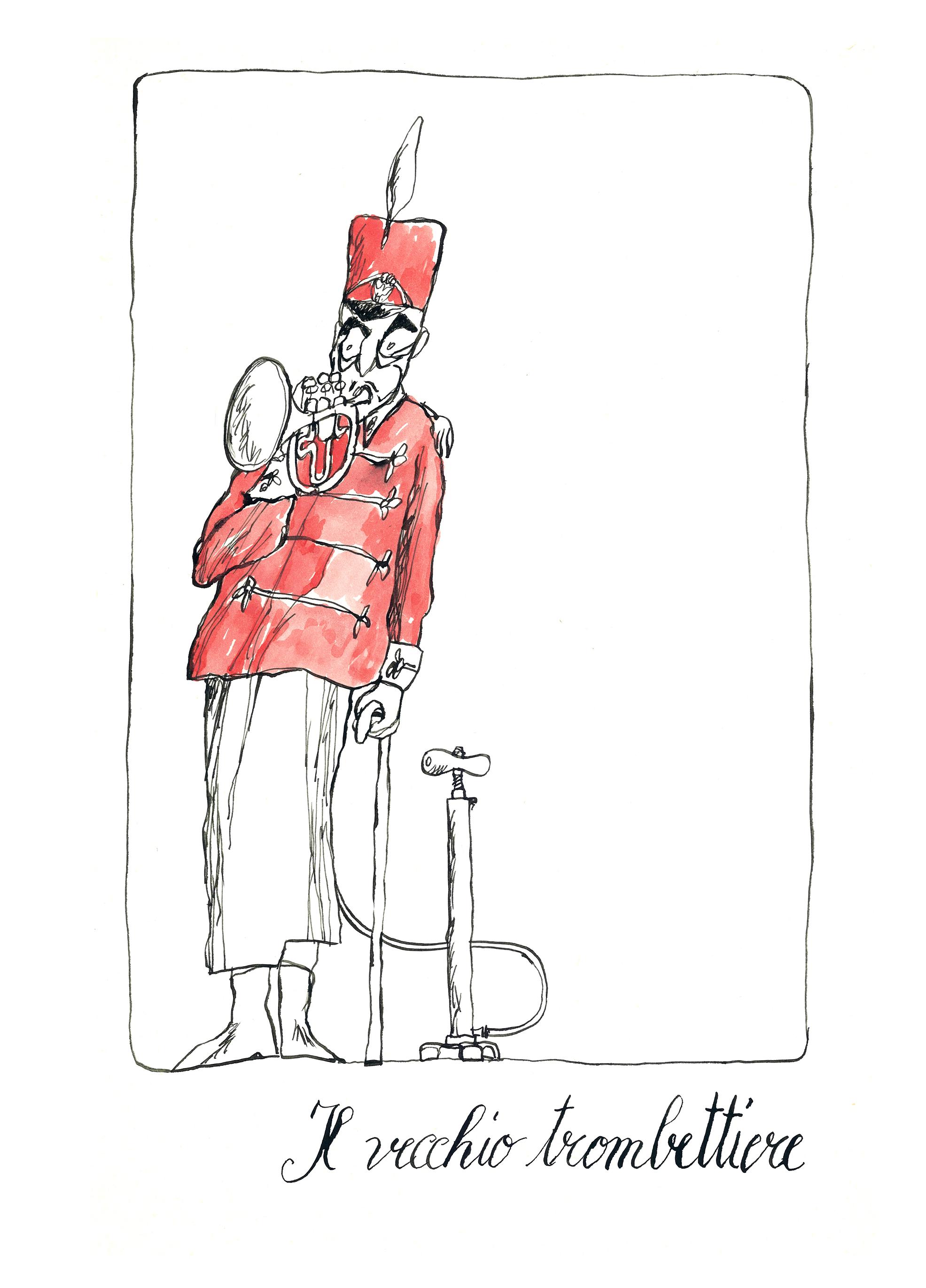 il vecchio trombettiere